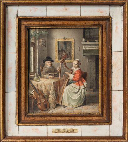 Joseph Willem LAQUY (1738-1798), école hollandaise...