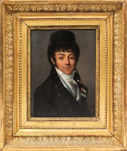 Henri Nicolas Van GORP (1756-1819).  Portrait...