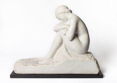 Amedeo GENNARELLI (1881-1943).  La Pudeur....