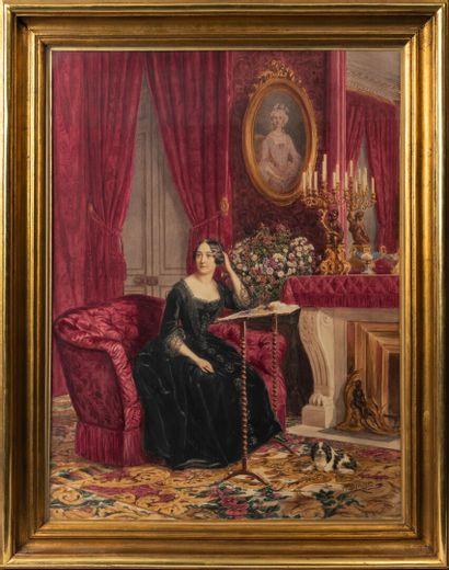 Athalante LEGRAND (XIXème siècle).  Femme...