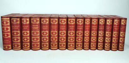 Suite de belles reliures style XVIIIème siècle...
