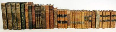 Lot d'ouvrages anciens et modernes, brochés...