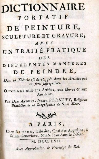 PERNETY (Antoine Joseph Dom).  Dictionnaire...