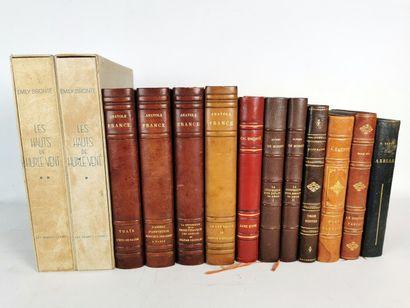 Lot d'ouvrages de la litterrature classique,...