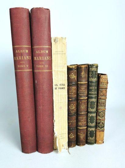 Lot d'ouvrages sur le thème de l'Histoire...