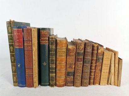 Lot d'ouvrages sur le thème de la poésie...