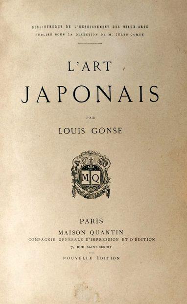[CHINE et JAPON]. Lot d'ouvrages sur les arts et histoires de la Chine et du Japon,...