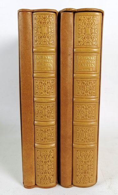 Réunion d'ouvrages de la litterature classique comprenant :  - BOCCACE.  Contes....