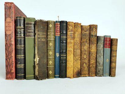 Lot de romans et pièces de théâtre comprenant...
