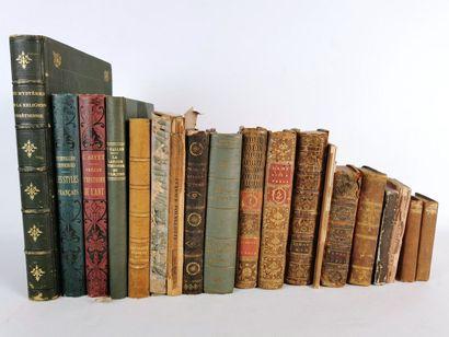 Lot d'ouvrages divers sur les thèmes de la...