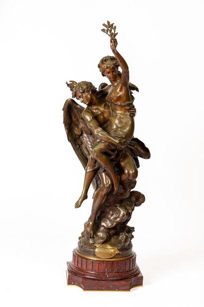 Mathurin MOREAU (1822-1912).  Le Génie de...
