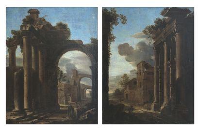 École italienne vers 1750, suiveur de Viviano...