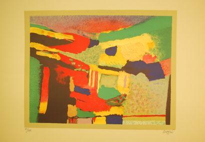 * Roland BIERGE (1922-1991)  Lot comprenant...
