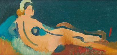 * Roland BIERGE (1922-1991)  Grande Odalisque...