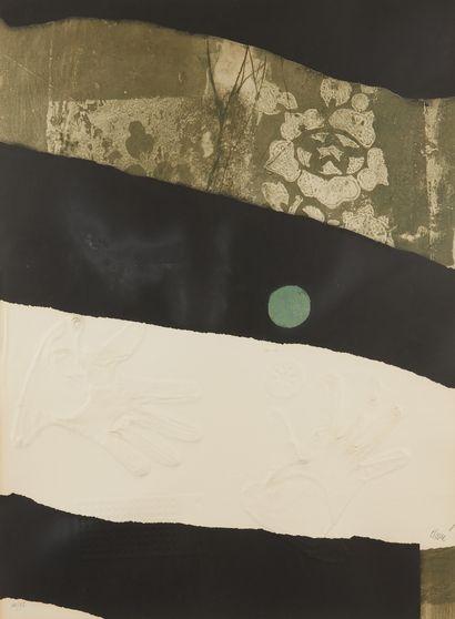 Antoni CLAVÉ (1913-2005)  Point vert  Gravure...