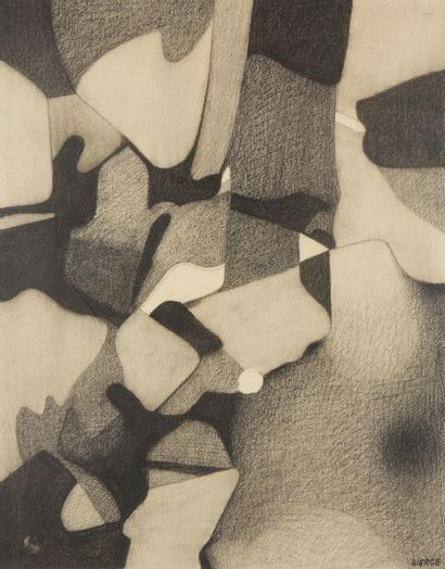 * Roland BIERGE (1922-1991)  Maremma, 1974...