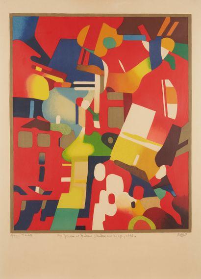* Roland BIERGE (1922-1991)  Acrimonte, 1974...