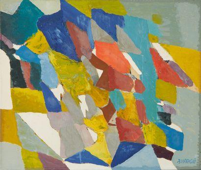 * Roland BIERGE (1922-1991)  Composition...