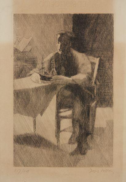 * Jacques VILLON (1875-1963)  L'Aventure....
