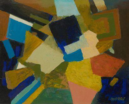 * Roland BIERGE (1922-1991)  L'amirauté,...