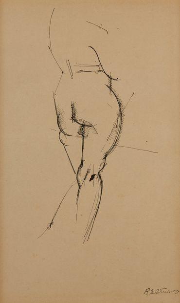 * Roger DE LA FRESNAYE (1885-1925)  Nu de...