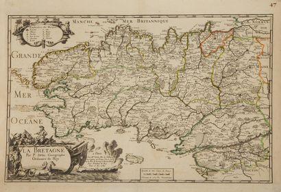 DUVAL, P. La Bretagne Par P. Du-Val, Geographe...