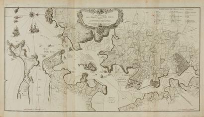 LEROUGE, G.L. Les environs de l'Orient et...