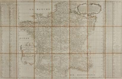 CASSINI DE THURY, C .F. Nouvelle carte qui...