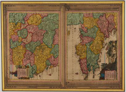 AA, P. van der. Carte du Gouvernement de...