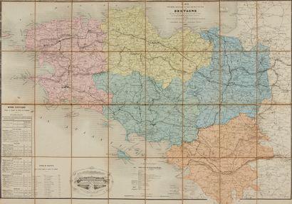 CHARLE, Jean Baptiste Louis. Carte routière...