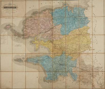 TACONNET. Carte itinéraire, topographique,...