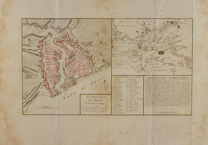 BERMONT, P.-L. Plan de la ville de Brest...