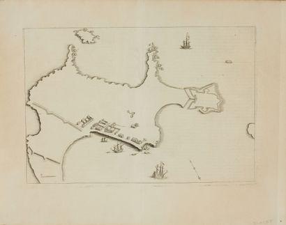 CORONELLI, V. M. Citta, Forte Blavet, e Porto...