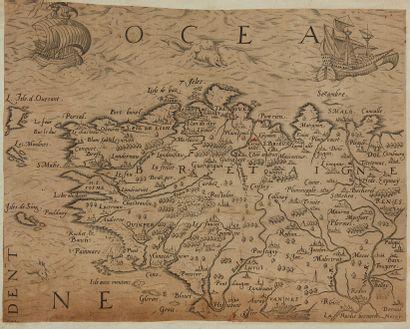 ANONYME. (Bretagne). Ca. 1590-1600. Noir...