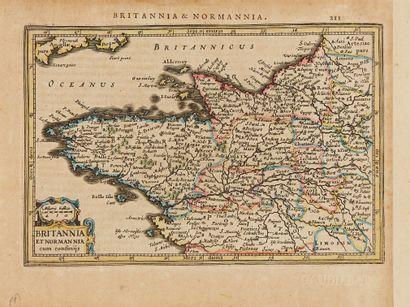MERCATOR, G. / JANSSON, J. Britannia et Normannia...