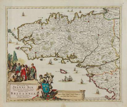 PERSOY, P. Britanniae. Amsterdam, 1694. Beau...