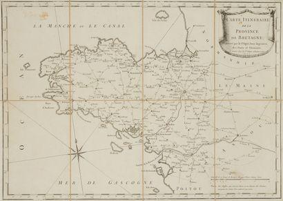 OGÉE. Carte Itinéraire de la Province de...