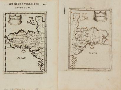 MANESSON-MALLET, A. Bretagne. Paris, 1683....