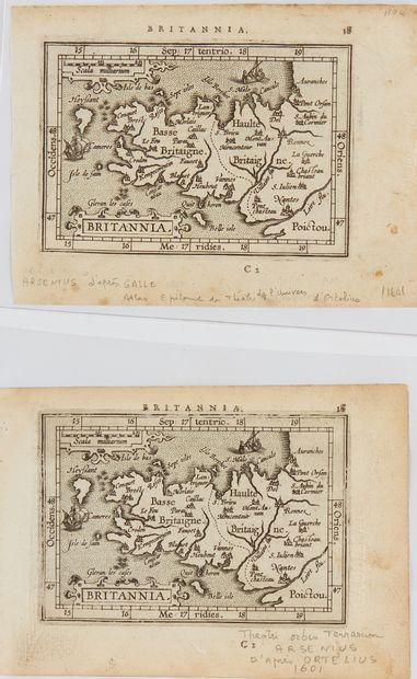 ORTELIUS, A. / COIGNET. M. / ARSENIUS. Britannia....