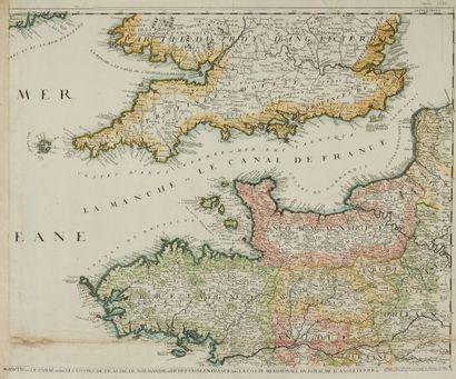 LOT. (Manche et Angleterre). 1690-1802. Col....