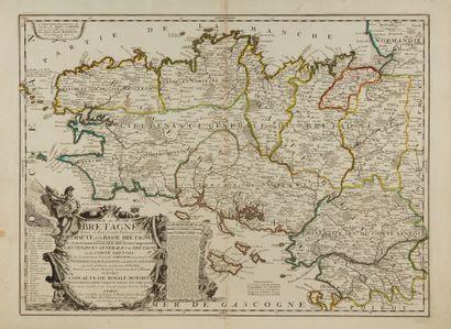 NOLIN, J.-B. La Province ou Duché de Bretagne....