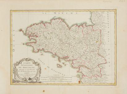 BONNE, R. Carte du Gouvernement de Bretagne....