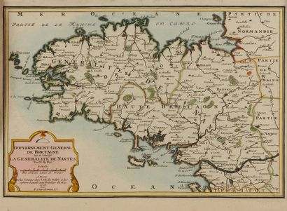 FER, N. de. Gouvernement Général de Bretagne...