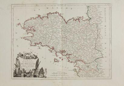 BONNE / SANTINI. Carte du Gouvernement de...