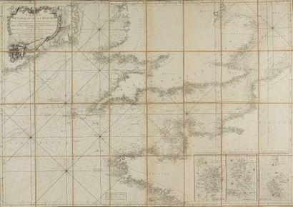 CLERMONT, Jacques. Carte du Canal ou de la...