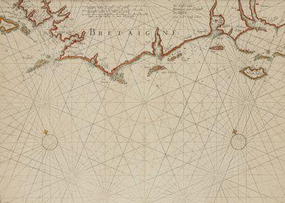 COLOM, J. A. De custe van Bretaigne van Heylandt tot Boelyn. Amsterdam, 1645. Col....