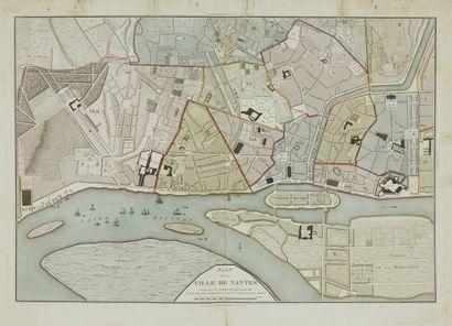 COULON. Plan de la ville de Nantes. Paris,...