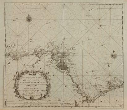 VAN KEULEN, G. Nouvelle carte marine…des...