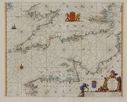 GOOS, P. Het Canaal tussen Engeland en Vrancriick....