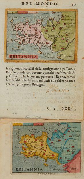ORTELIUS, A. / GALLE, F. Britannia. 1598...